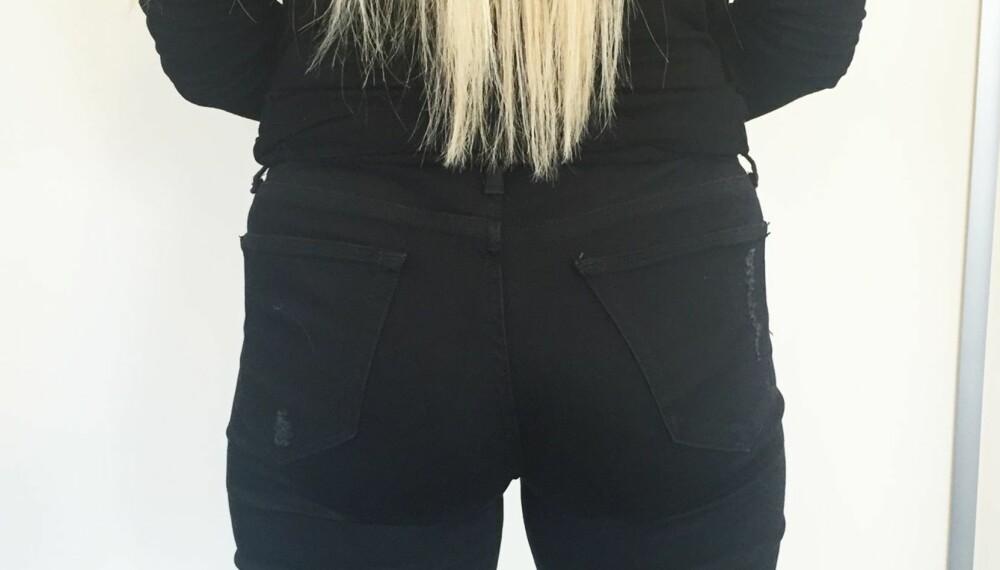 FIN JEANSRUMPE: Vet du hva som skal til for at rumpa di ser bra ut i for eksempel jeans?