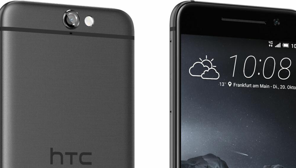 DESIGNTELEFON: HTC One A9 skal appellere til de designbeviste, og deler ulektelig noen likheter med Apples modeller.