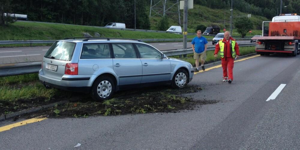 PLASSERING: Å få med hvordan bilen (eller bilene) er plassert etter uhellet kan være med på å avgjøre forsikringssaken. FOTO: Terje Haugen