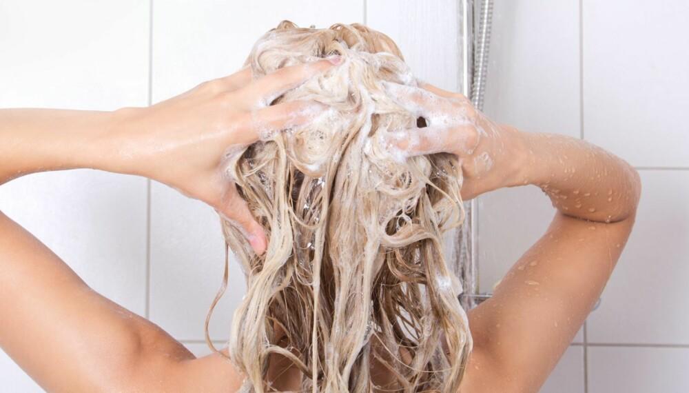 BRUK AV BALSAM: Bruker du egentlig balsamen riktig i håret ditt?