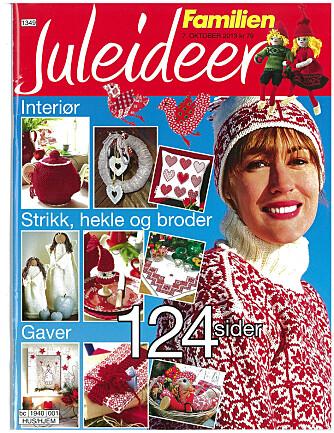 JULEIDEER 2013: Send sms JULEIDEER 2013 for å kjøpe bladet. Du blir belastet kr 79,- på telefonregningen og får bladet tilsendt.