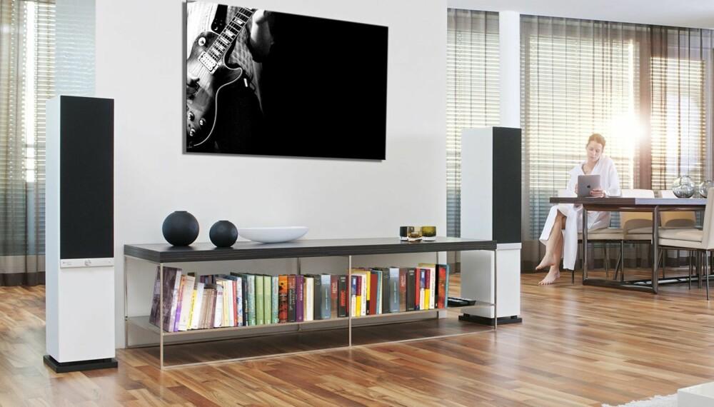 HI-FI: Stereo L er et par kompromissløse hi-fi-høyttalere som byr på mengder av presis stereolyd.
