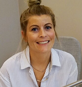 NEGLEEKSPERT: Marianne Vinje er negltekniker i neglesalongen S&M i Oslo.