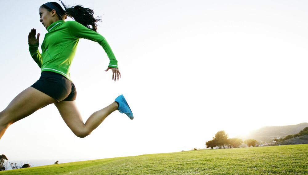 VARIER LØPINGEN: Det er viktig å unngå lapskaustrening, altså halvharde økter som alltid gjennomføres i samme gir. Variasjon i intensiteten må til fordi musklene trenger å utfordres på forskjellige måter. Her kan du velge og vrake blant 25 løpeøkter.
