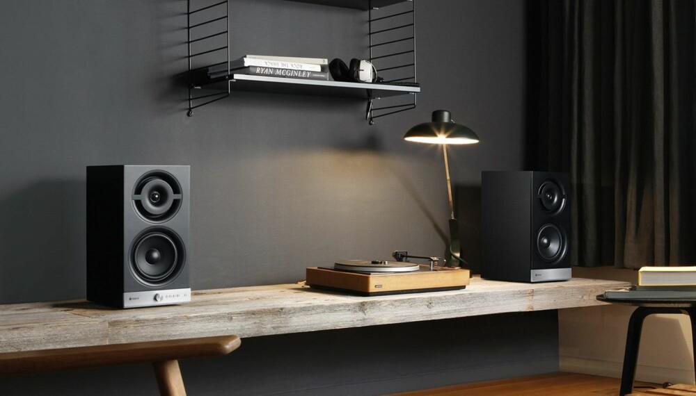 STEREO: Alle vil ha en bit av multirommarkedet, men bare Raumfeld lager multromshøyttalere for tradisjonelt stereo-oppsett.