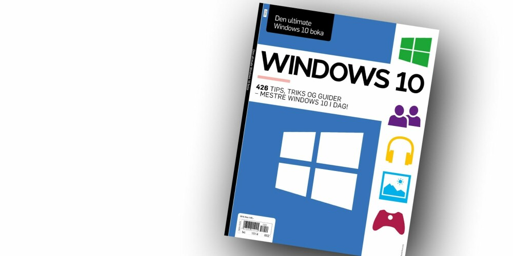 WINDOWS 10: Den ultimate Windows 10-boka er i salg nå!