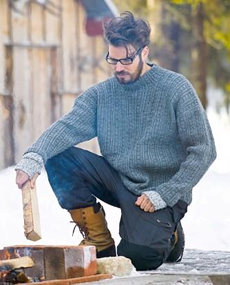 GOD I VINTER: Ullgenser er ekstra godt å ha når det er kaldt og snø ute.