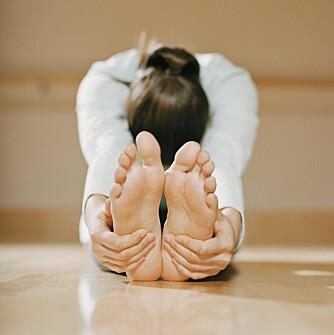 3 ENKLE ØVELSER HVER DAG: Trener du litt pilates hver dag, får du en sterkere grunnstruktur.
