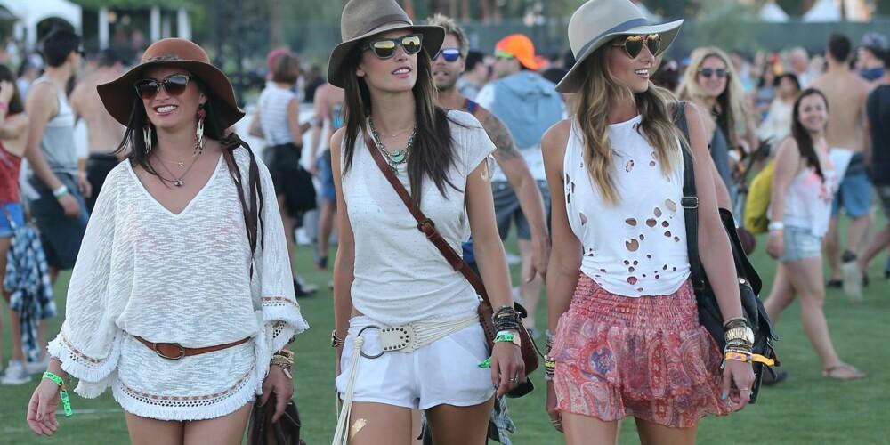 HATTEFIN: Hatten var et populært tilbehør å se under årets Coachella-festival. Det er imidlertid langt fra det eneste stedet det passer seg å være hattefin. Her får du de beste stylingtipsene til tilbehøret som hever ethvert antrekk. Over i midten: Modell og it-jente Alessandra Ambrosio.
