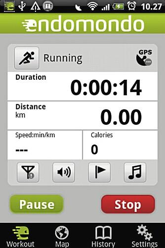 FOR ALLE: Endomondo har laget et program som nesten alle med en nyere mobil kan bruke.