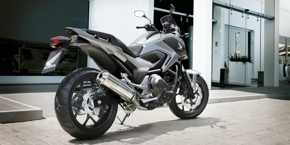 MOTORSYKKEL: Honda NC 750X Adventure