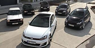 Volkswagen Golf GTI 2013, 6 generasjoner GTI,  juni 2013