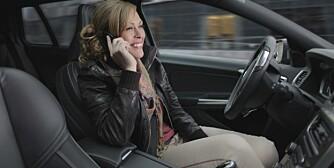 FORSKER: Volvo er blant produsentene som jobber med selvkjørende biler. FOTO: Volvo