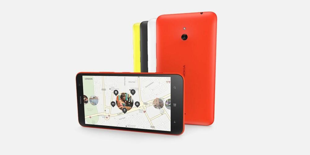 MYE INNHOLD: Nokia byr på mye bra innhod, som for eksemepel navigasjonsappen HERE som er gratis og veldig bra.