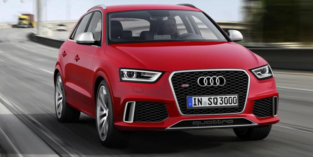SPYDSPISS: RS-utgavene utvikles av Audis datterselskap quattro GmbH, som i snart 20 år har utviklet Audis råeste spydspisser. FOTO: Audi