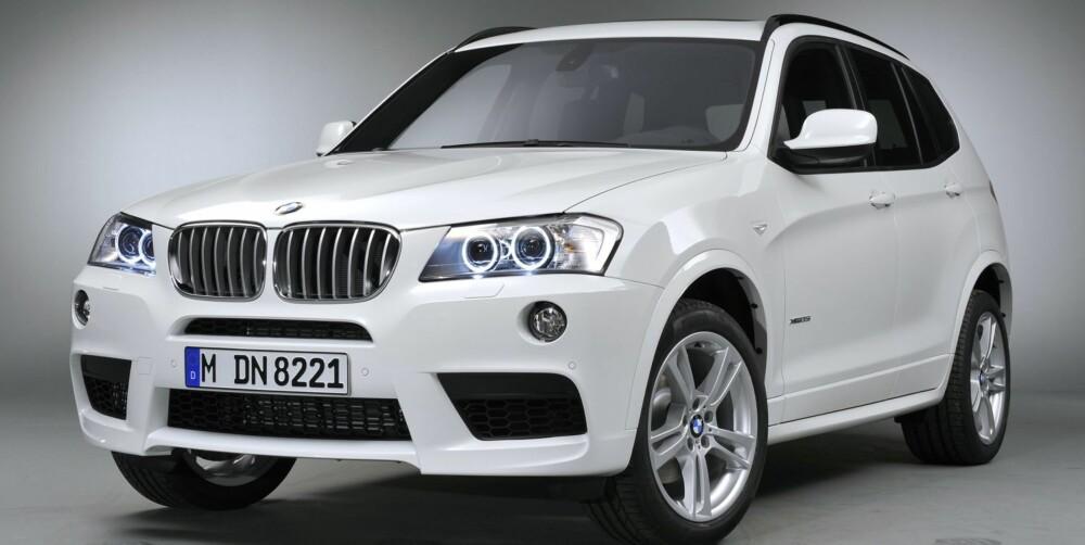 RIVALEN: BMW X3 35d. FOTO: BMW