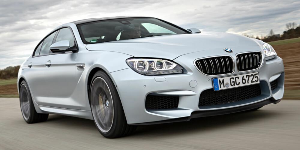 RIVAL: BMW M6 Gran Coupe. FOTO: BMW AG