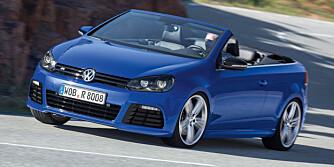 SPARKER FRA: 264 hk og et dreiemoment på 350 Nm gjør at R-kabriolet sparker bra fra. FOTO: VW