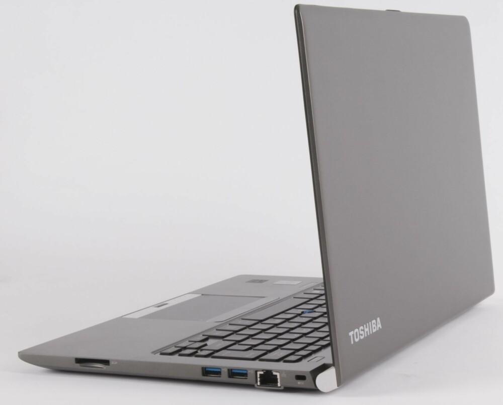 SOLID: Dekslene på Toshiba Portege Z30 er laget i en magnesiumlegering.