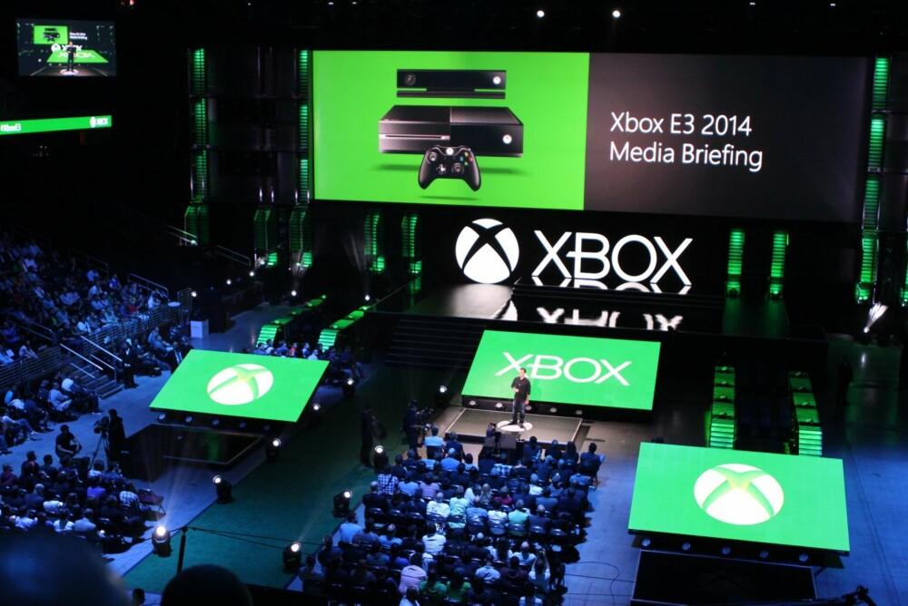 NYE SPILL: Xbox-sjef Phil Spencer viet hele showet til kommende spill under Microsofts årlige E3-presseshow.