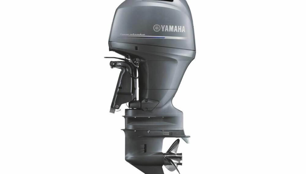 FERSK: 2015-modellen er basert på den samme slitesterke rekkefireren som har et sylindervolum på 2,7 liter og fire ventiler per sylinder styrt av overliggende kamaksel. FOTO: Yamaha