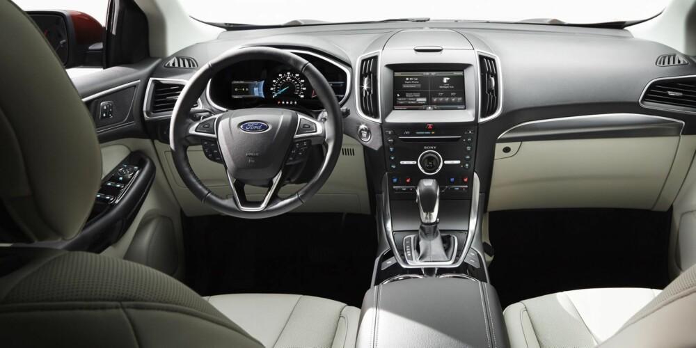 SUV: Ford mener Edge kan konkurrere med premium-SUV. FOTO: Ford