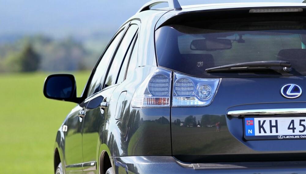 MEST POPULÆR: 61 000 bileiere har talt: Den mest populære bruktbilen som er førstegangsregistrert fra 2007-2009 er premium-SUV-en Lexus RX. Her en RX 400h.