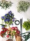 blomsterkrans på engelsk