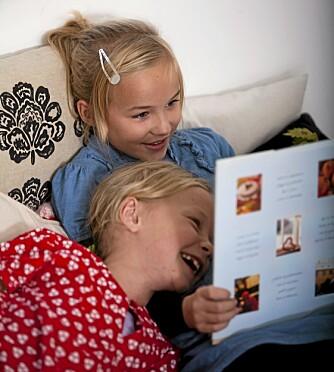 SØSKENKOS: Finn litteratur barnet er interessert i, og la gjerne eldre søsken lese for yngre.