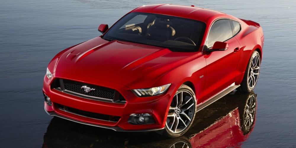 MER MODERNE: Sjette generasjon Ford Mustang kommer til Europa i 2015. FOTO: Ford