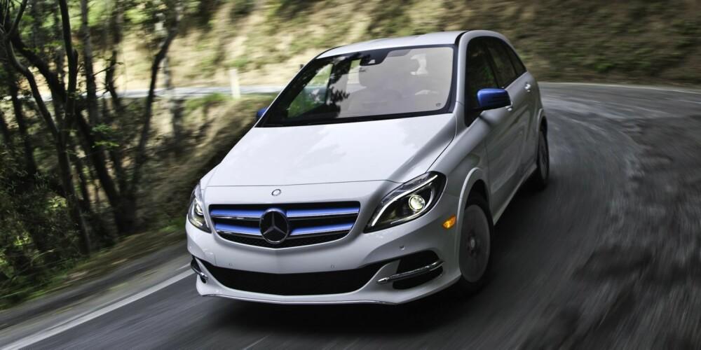 TIL NORGE: Mercedes B-klasse Electric Drive er ventet til Norge neste år.