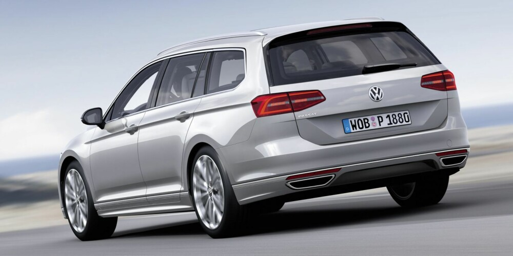 NY PASSAT: VW har solgt nesten 22 millioner Passat-er siden lanseringen i 1973. FOTO: Produsent