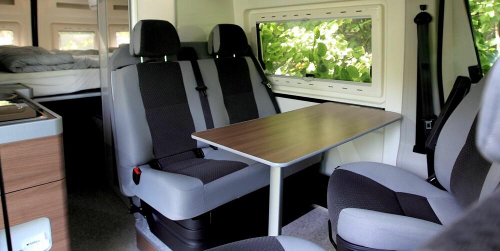 HAR ALT: Bybobilen har alt hva man behøver, også for lengre turer. FOTO: Egil Nordlien HM Foto