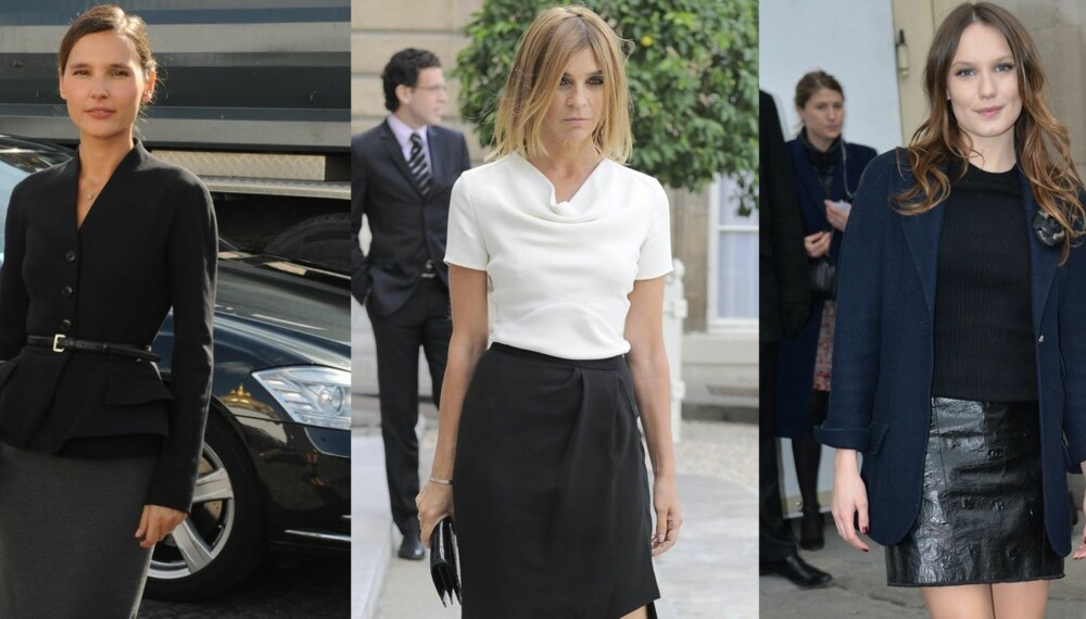 dac6917f ENKELT OG ELEGANT: Franske kvinner vet å kle seg, og det er denne trioen