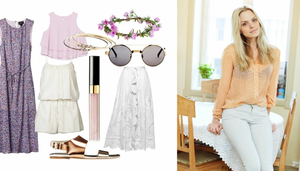 FESTKLAR: Med disse plaggene i skapet er stylist Anette von Osten klar for sommerenes hagefester.