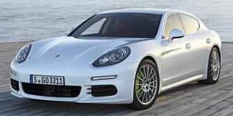 LITT GRØNN: At denne bilen skal greie et CO2-utslipp på 71 g/km virker nesten utrolig. FOTO: Porsche