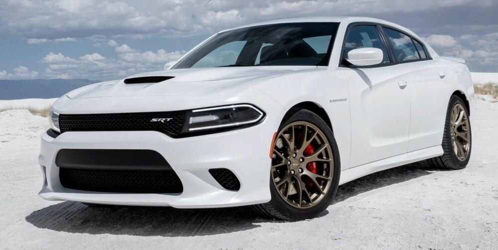 HELLCAT: Dodge Charger SRT Hellcat er en firedørs bil utenom det vanlig.