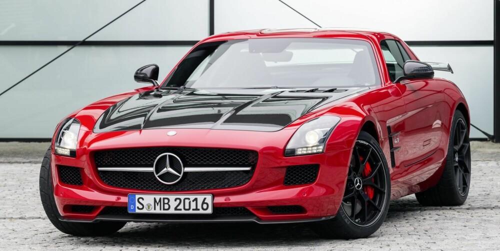 PUNKTUM FINALE: Mercedes-Benz SLS AMG GT Final Edition er det fulle og hele navnet til farvel-modellen.