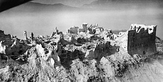 ITALY: MONTE CASSINO, 1944.  Ruins of the Benedictine abbey of Monte Cassino, which was bombed by Allied troops on 18 May 1944.