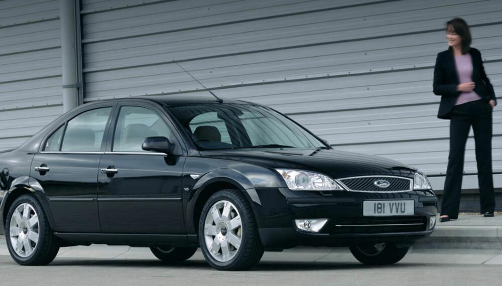 Med 2,2-liters diesel er Ford Mondeo godt motorisert