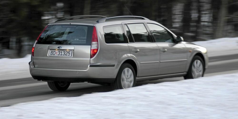Ford Mondeo stasjonsvogn er den vanligste bruktbilen i Mondeoutvalget.