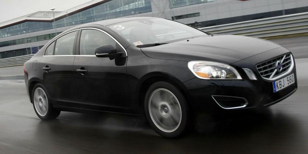 S60: Volvo S60 T5 KERS hybrid prototype under test. FOTO: Produsent