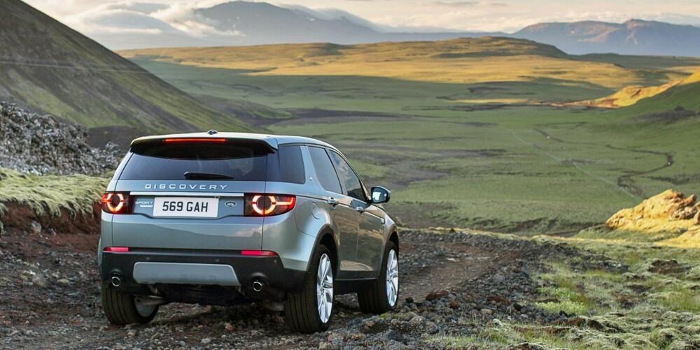 RØFFERE: Biler fra Land Rover skal by på noe ekstra når det handler om terrengferdigheter. Discovery Sport skal for eksempel kunne vade i 60 centimeter dypt vann. FOTO: Land Rover