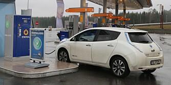 Nissan Leaf 2014 hurtiglading