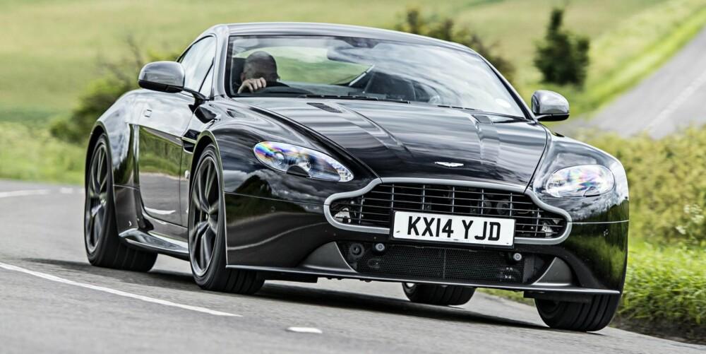 PRØVEKJØRT: Aston Martin Vantage N430. FOTO: TopGear