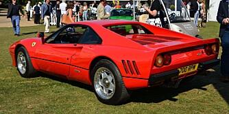 SJELDEN: Ferrari 288 GTO: FOTO: Newspress