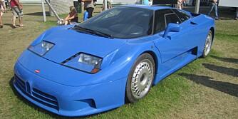SPESIELL: Bugatti EB 110 GT. FOTO: Wikipedia
