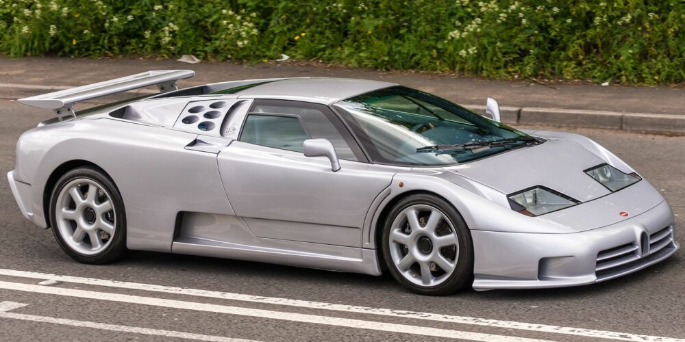 SS: Bugatti EB 110 Super Sport. FOTO: Flickr