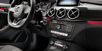 B 250 4MATIC (W 246) 2014, jupiterrot, AMG Line, Interieur, Leder schwarz RED CUT B 250 4MATIC (W 246) 2014, jupiter red, AMG Line, interior, RED CUT black leather