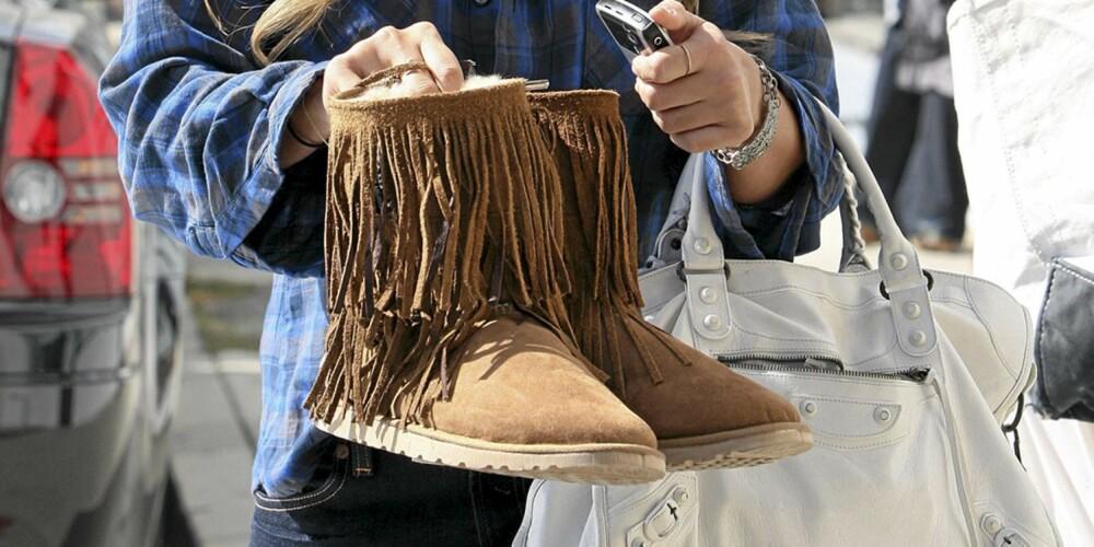 SKITNE SKO: Vintervær kan fort gjøre semkede sko stygge og flekkete. Følg våre tips for et godt vedlikehold.